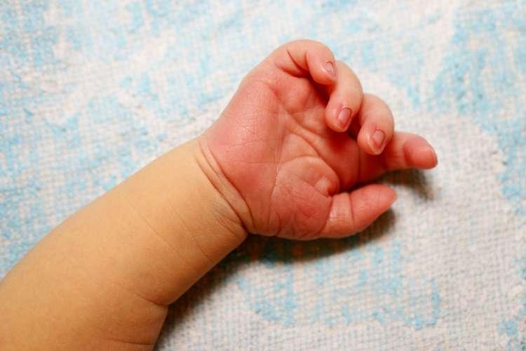roka, rokica, dojenček