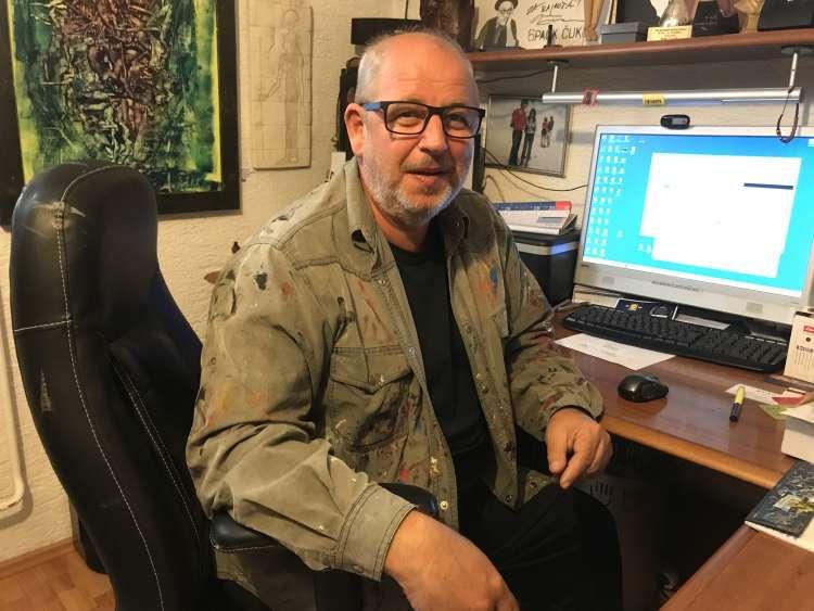 Rajko Ferk, slikar, svetovna diplomacija