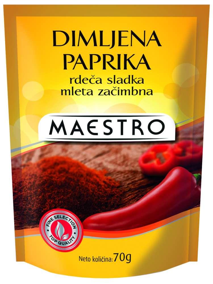3856020204631 Maestro deltapack_Dimljena paprika rdeča sladka mleta