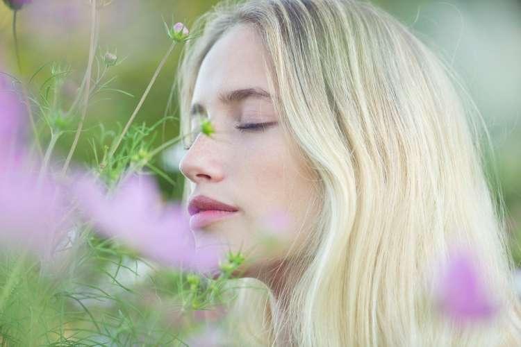 cvetje, vonj, ženska vonja cvetje