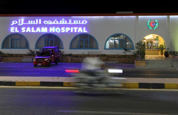 Egipt,bolnišnica Hurgada, napad na tuje turiste