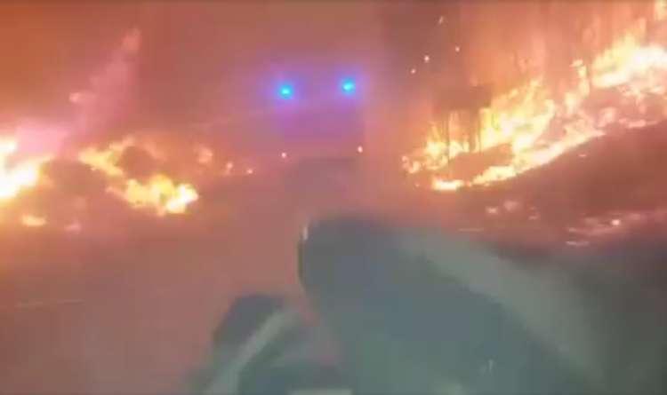 požar, Dalmacija, gasilci, gašenje