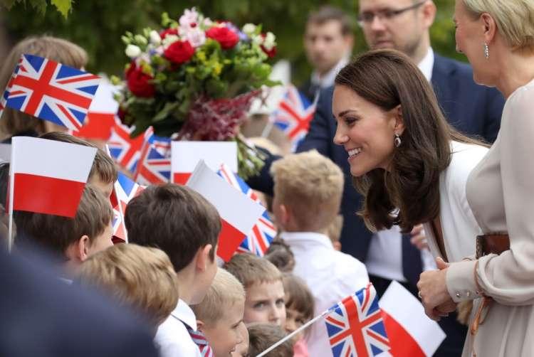 Kate Middleton, vojvodinja cambriška, obisk Poljska
