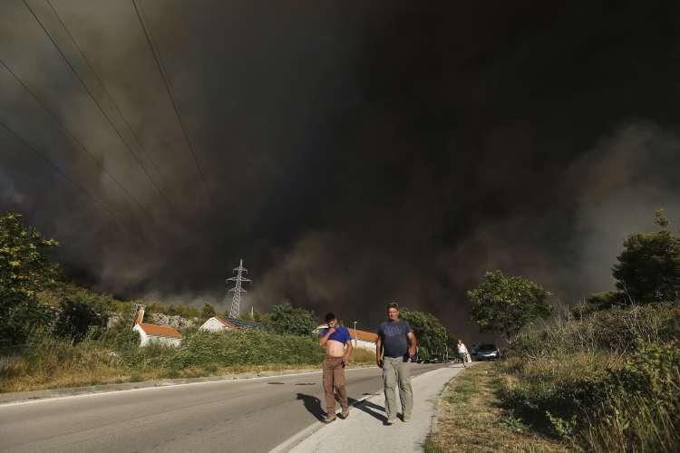 požar, Dalmacija, Split