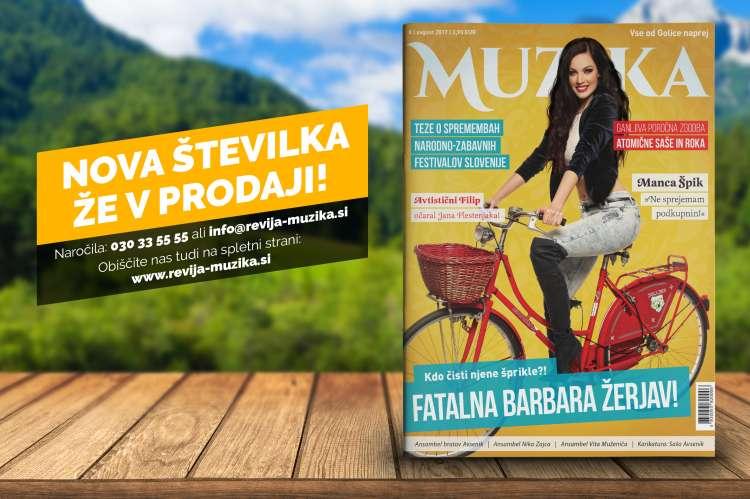 Revija Muzika avgust 2017