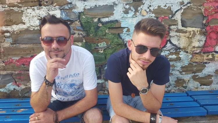 Mišo in Dominik Kontrec