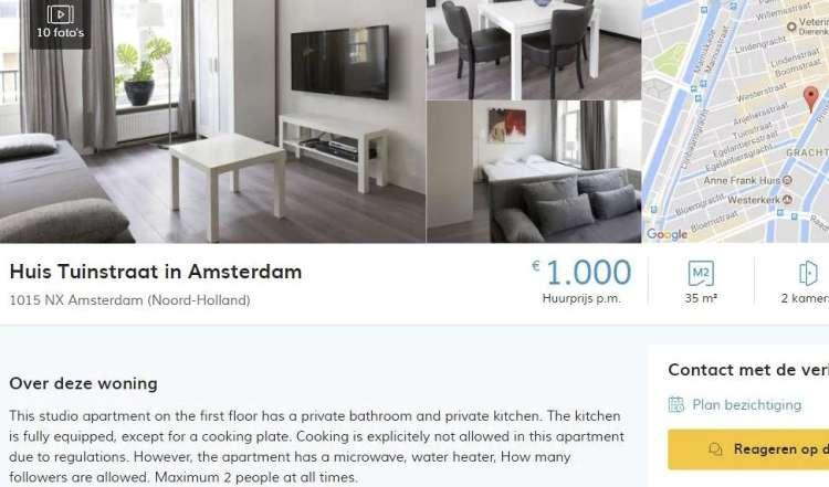 stanovanje, amsterdam