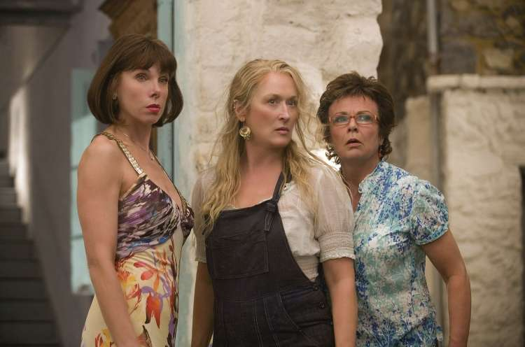 3 - Christine Baranski, Meryl Streep in Julie Walters