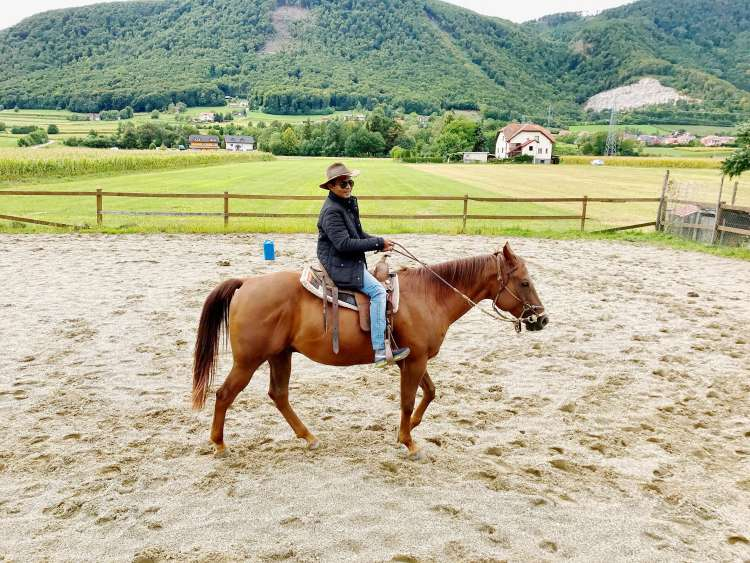 jahanje konja, turistična patrulja, micheal, Slovenske konjice