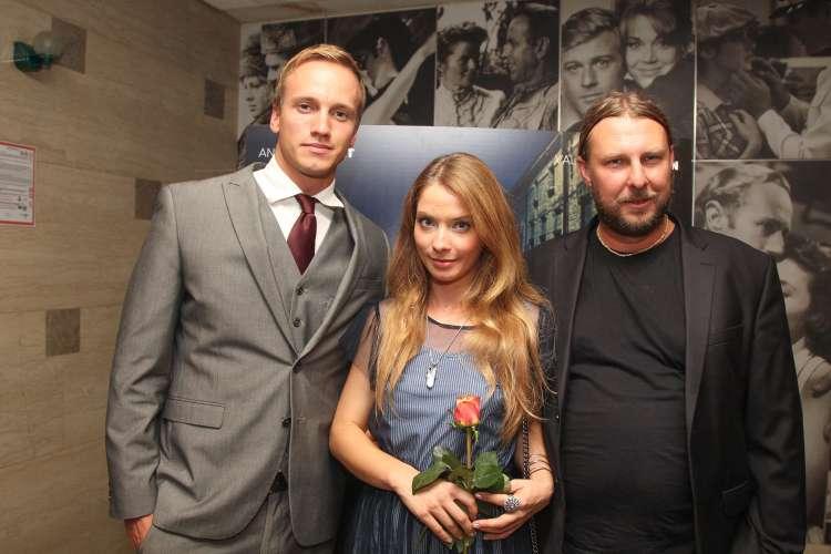 Valentina Plaskan, Dejan Babosek in Andrei Lenart