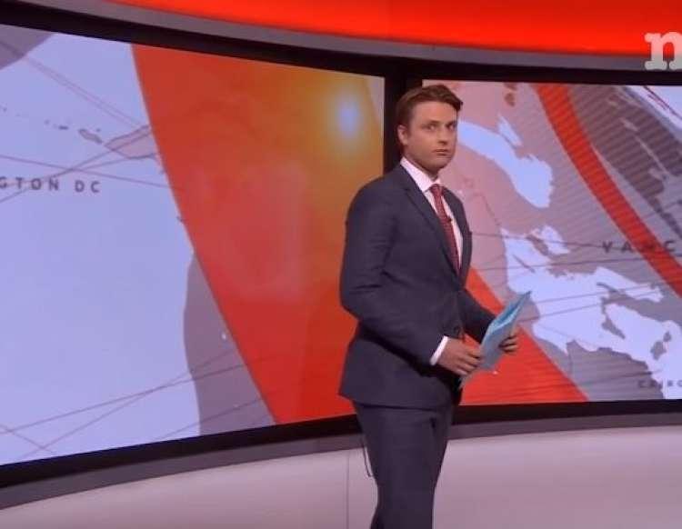Tom Donkin je televizijski voditelj na BBC-ju.