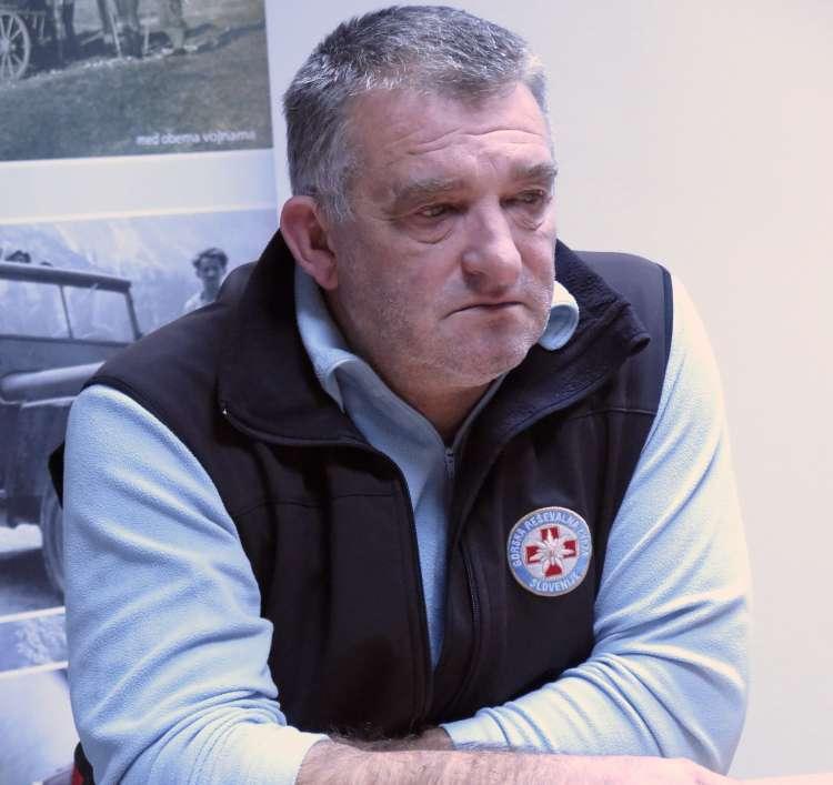 Igor Potočnik, predsednik Gorske reševalne zveze Slovenije
