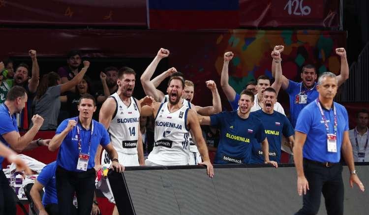 slovenija košarka Latvija