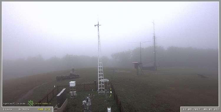 meteorološka postaja, Lisca, spletna kamera