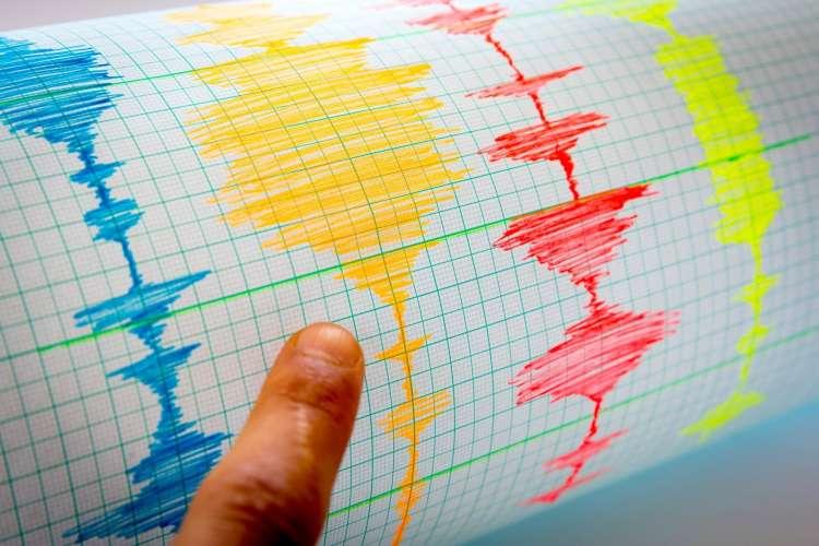 seizmograf, potres