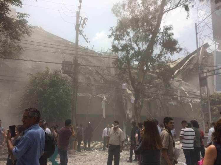 mexico city, potres