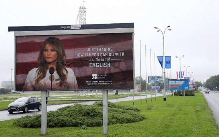 Melania - kampanja