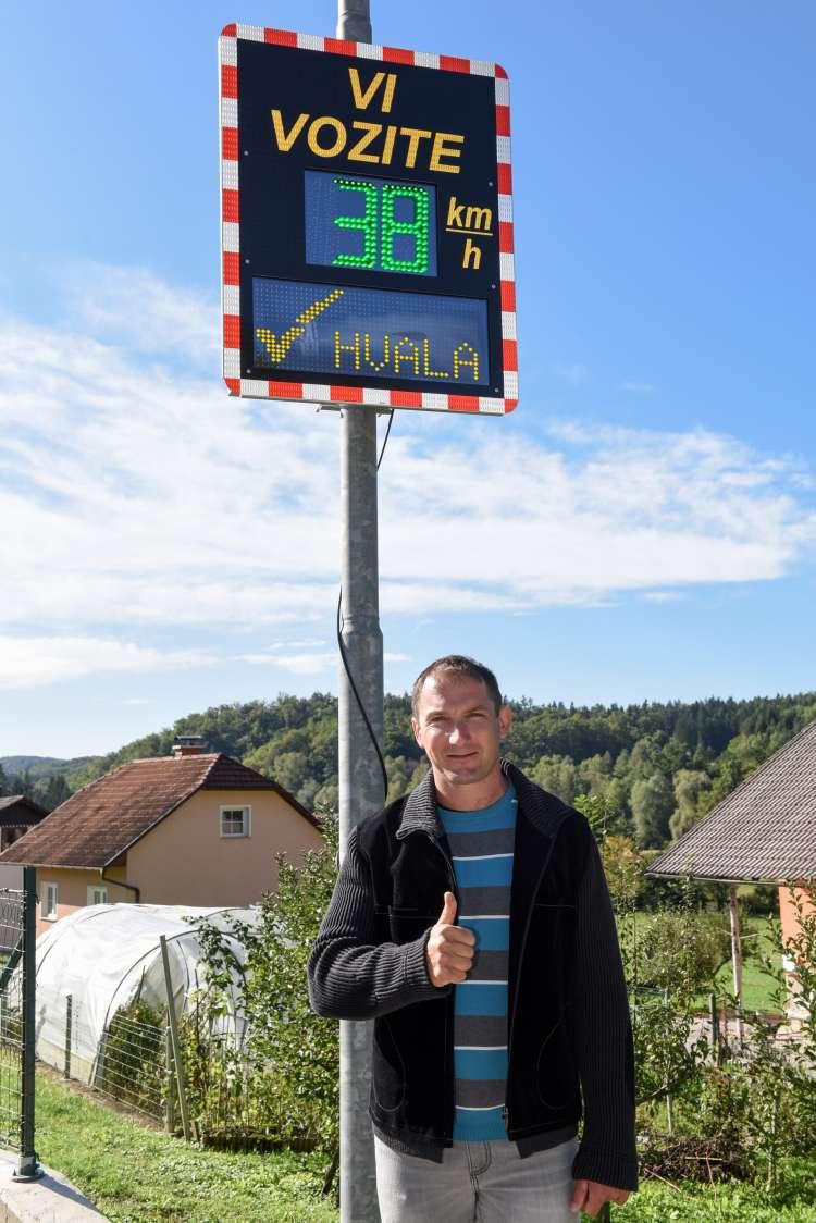 Ambasador projekta Skupaj umirjamo promet Primož Kozmus