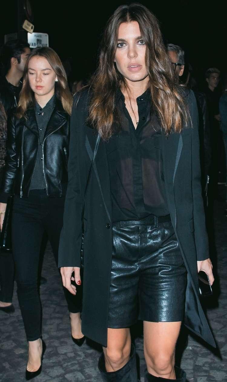 Charlotte Casiraghi in princesa Alexandra Hannovrska sta na pariških modnih revijah pritegnili veliko pogledov.