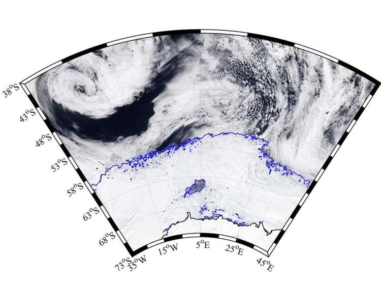 antarktika, polynya