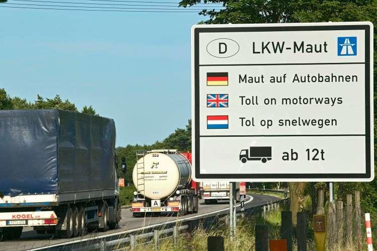 cestnina, nemčija
