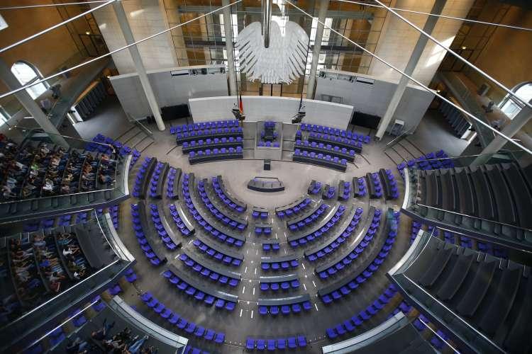 bundestag, parlament, nemški