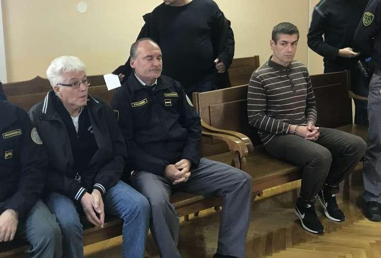 Franc Vajda, Andrej Bagari, sodišče