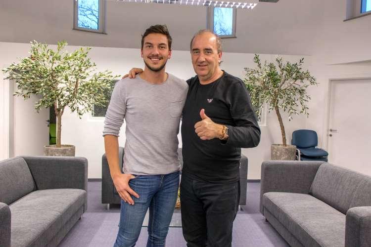 Matej Kirn Starič in Mladen Grdović