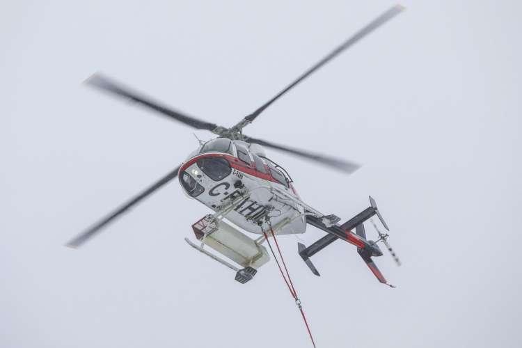 helikopter, lake louis
