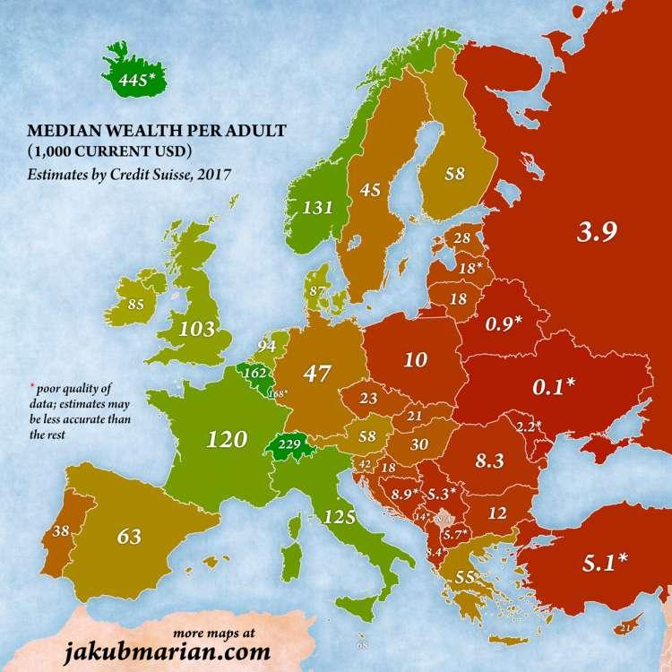 zemljevid bogastva