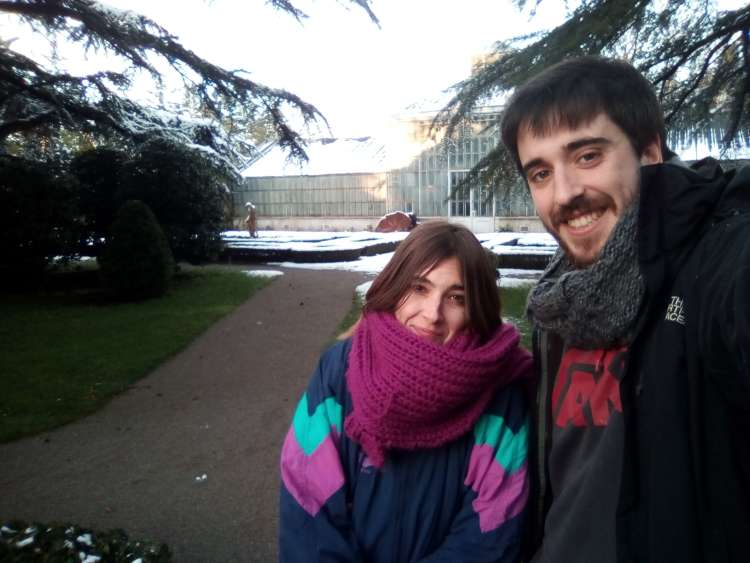 Juan in Veronica, turistična patrulja