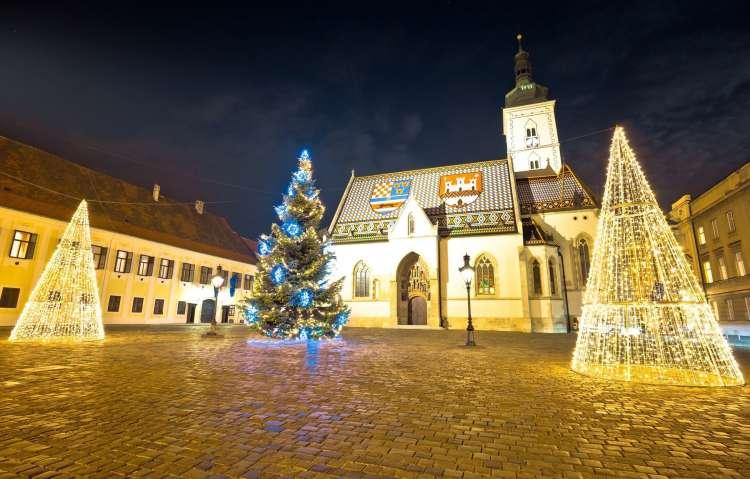 Advent v Zagrebu.