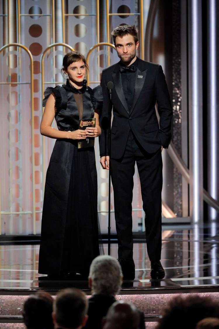 Emma Watson in Robert Pattinson