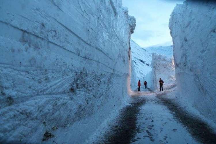Bonneval-sur-Arc, sneg