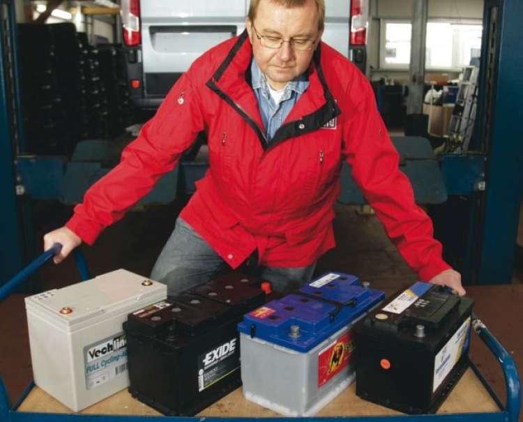 SVETOVALEC: Baterije za avtodom