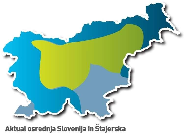 Aktual osrednja Slovenija in Štajerska