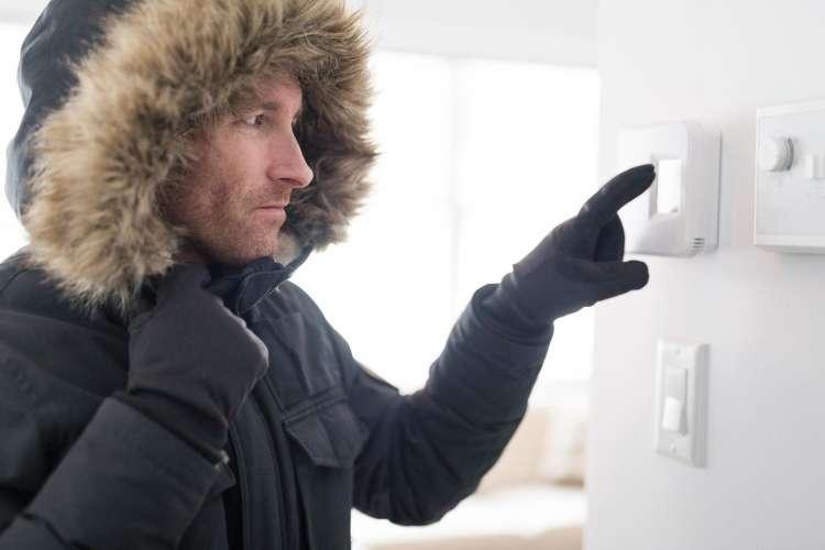temperatura doma, ogrevanje