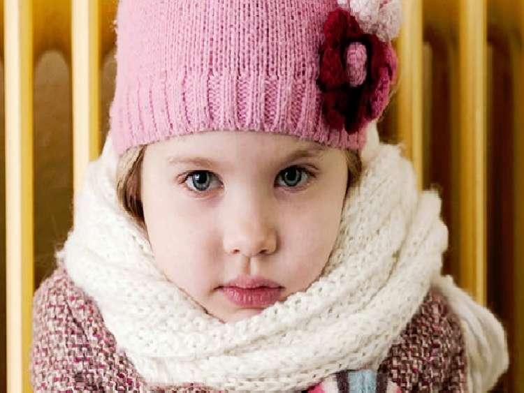 zmrzljiva deklica