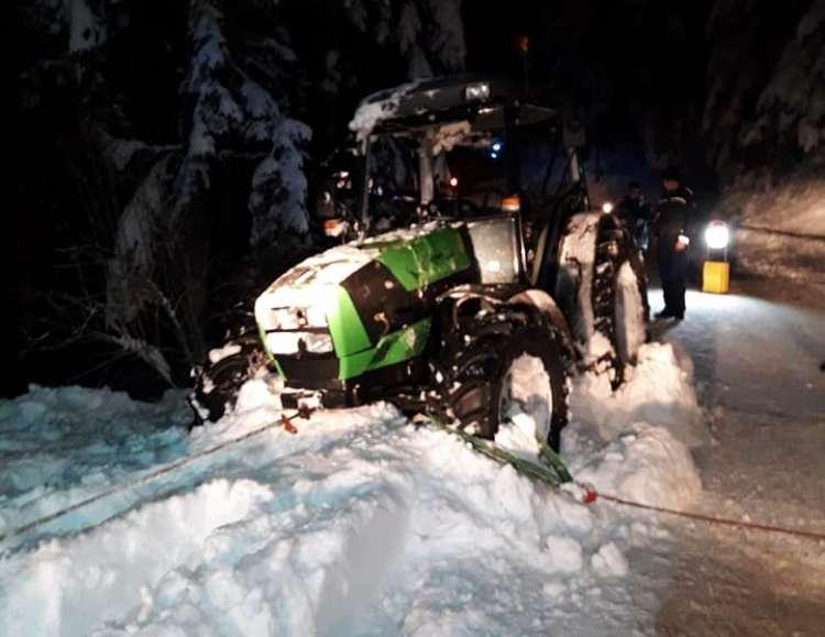 traktor, nesreča