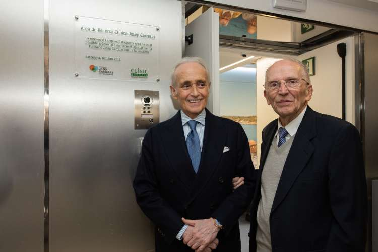Mr. Carreras with Prof. Ciril Rozman (born in Eslovenia)2.jpg