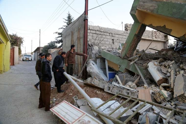 Potres Irak 12. 11. 2017