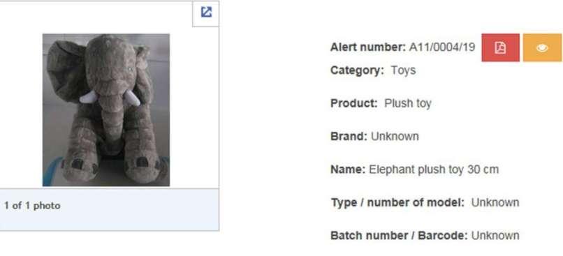 plush elephant
