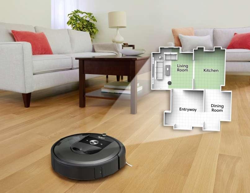 Roomba i7_Imprint Smart Map_Overlay