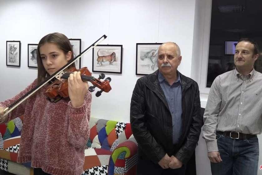 VIDEO: Odprli Dušanovo ''Oči kot odsev duše''