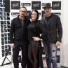 Lastnica trgovine Freddy Slovenija Maja Kesič v družbi Bojana Horvata (levo) in predstavnika Freddy Italia Alberta Ciria (desno).
