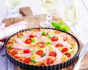 Lososova pita s paradižnikom