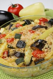 Džuveč brez mesa po albansko
