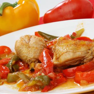 Piščanec s papriko po špansko