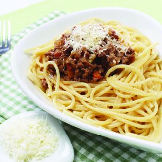 Špageti z bolonjsko omako