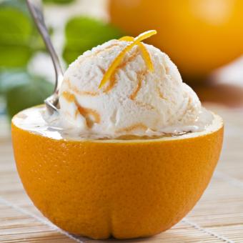 Pomarančni sladoled